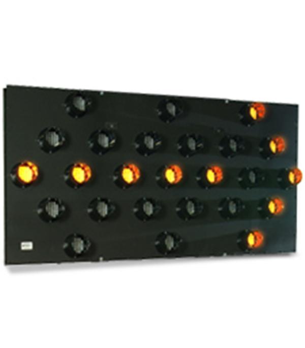 Vm 367225 25 Light Vehicle Mount Arrowboard Traffic Lane